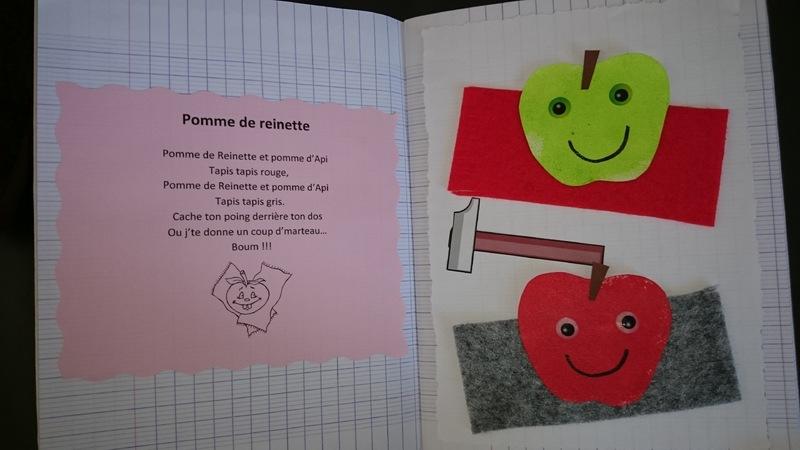 comptine pomme de reinette colorier pomme de reinette. Black Bedroom Furniture Sets. Home Design Ideas